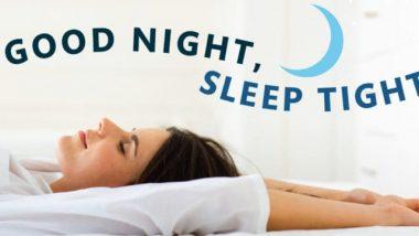 tips voor betere nachtrust