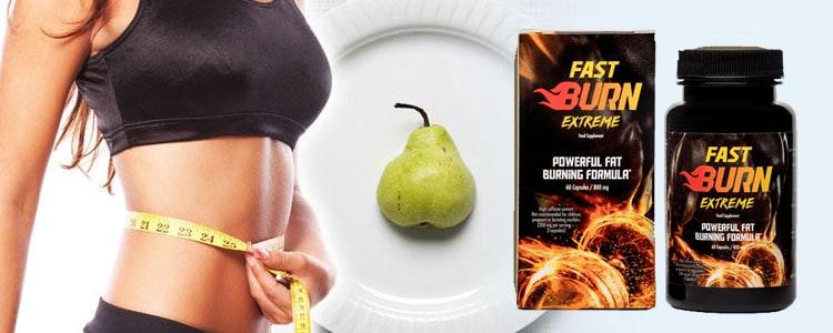 vrouw valt af met fast burn extreme