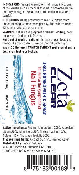 zetaclear ingredients